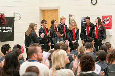 Crown Point Elementary D.A.R.E. Program Graduation 12-3-15