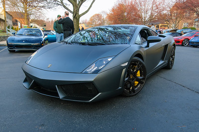 Lamborghini at Coffee and Cars