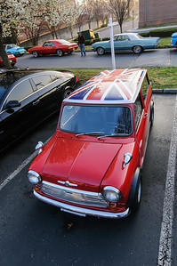 Mini at Coffee and Cars