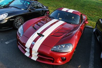 Viper at Coffee and Cars