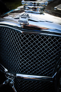 Vintage Jaguar at Coffee and Cars