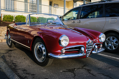 Alfa-Romeo at Coffee and Cars