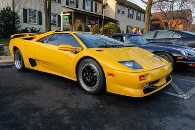 Ferrari at Coffee and Cars