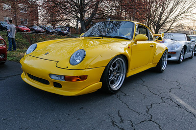 Porsche at Coffee and Cars