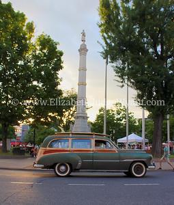 Woody Station Wagon Easton Cruise Night  June 21, 2014
