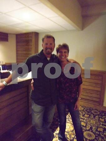 Ryan Brown with Carol Angstrum.