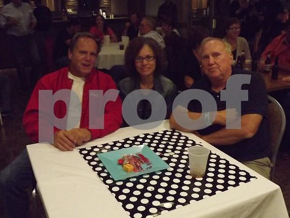 Al and Terri Bass with Paul Ludwig.