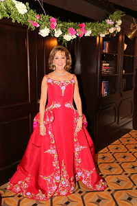2014 Crystal Charity Ball Chairman, Robyn Conlon, before the start of the Jewels of the Garden party.