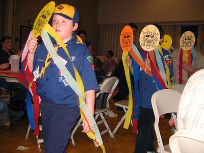 Cub Scout Blue & Gold Banquet Feb. 2008