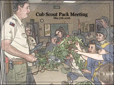 Cub Scout Pack Meeting May 27th 2008