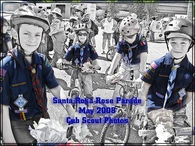 Cub Scouts at the Rose Parade May 2008