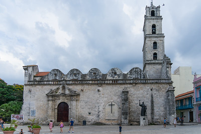 The Basilica Menor de San Francisco de Asís in Havana.  Construction began in 1580.