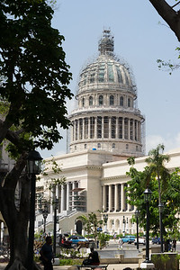 El Capitolio in Havana, was the seat of government in Cuba until after the Cuban Revolution in 1959, and is now home to the Cuban Academy of Sciences. It's design was modeled after United States Capitol