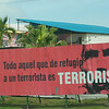 Sign outside Havana's airport