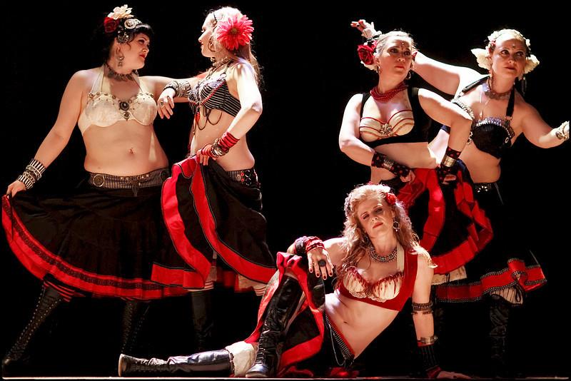 Sisters of Alchemy Sideshow Improv