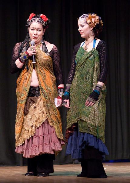Adriene Rice and Julia Demarest
