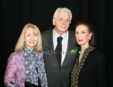 Photo Credit: Jacek Photo. Caption: L-R: Gigi and Harry Benson with Regine Traulsen at The Cultural Council of Palm Beach County 2014 Muse Awards at The Kravis Center in West Palm Beach, Fla. on March 13, 2014.