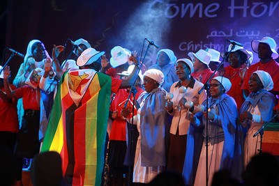 Choir from Zimbabue