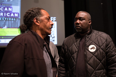 """Closing night of the 2018 Langston Hughes African American Film Festival (LHAAFF) featured Rafael Flores's """"My People Are Rising"""" documentary focused on the life of former Black Panther Party captain Aaron Dixon. Hosted by Nikkita Oliver."""
