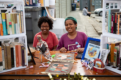 Jujubeet Books at the Block Party.