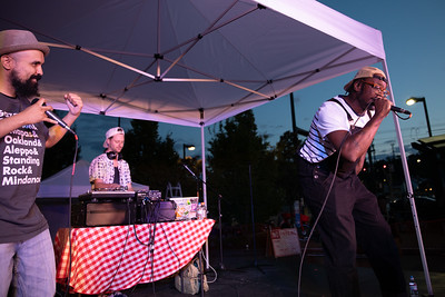 Abyssinian Creole, Gabriel Teodros, left, and Khingz, headline the Block Party.