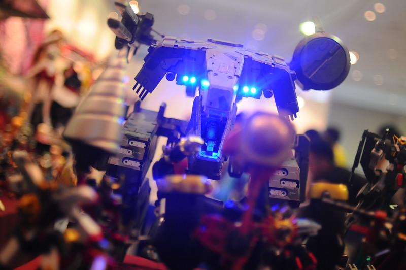 The domineering Metal Gear REX, from ThreeA Toys