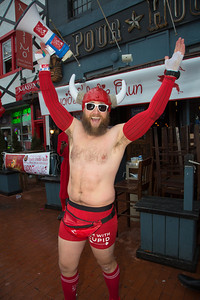 Bobby Gill, co-founder of the Cupid's Undie Run