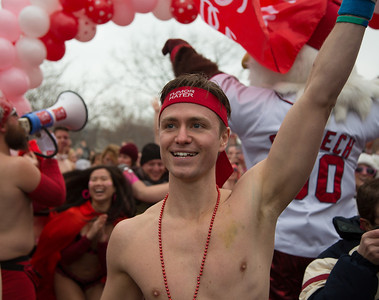 Brendan Hanrahan,  co-founder of the Cupid's Undie Run