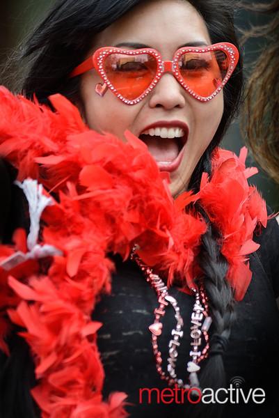 Cupid's Undie Run: San Jose 2015