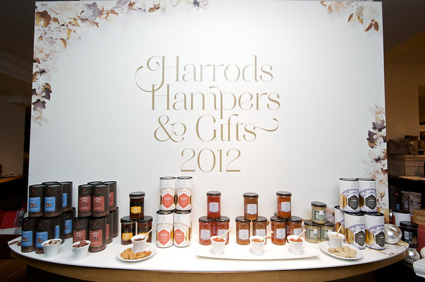 Harrods Hamper Showcase 2012