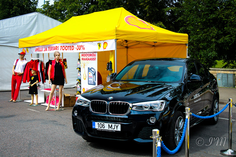 BMW drives with Shell Pureplus technology too