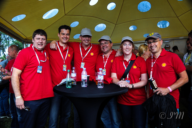 Shell Jungent Baltic sales and marketing team