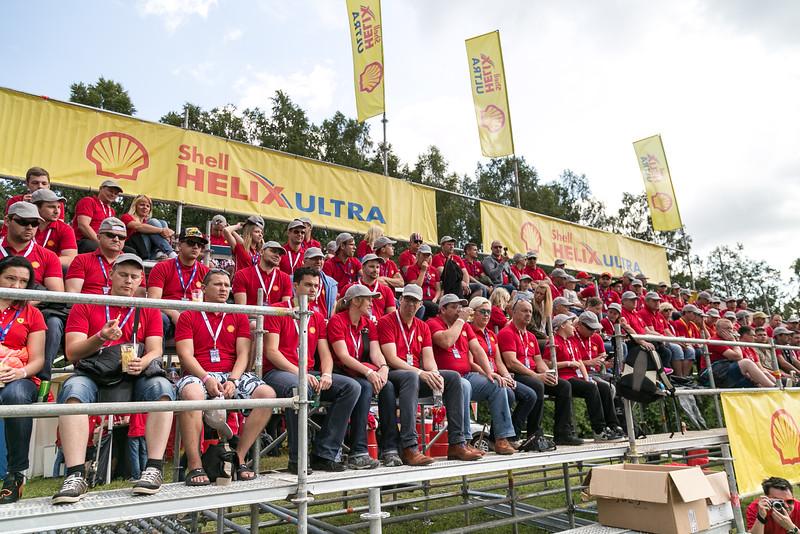 Shell jump stage at Rally Estonia