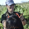 <b>Inspecting a Lubber Grasshopper</b> <b>Marshall Foundation Cypress Harvest</b>  October 25, 2014 <i>- Anthony Lang</i>
