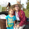 <b>Pauline's granddaughter Jewelia Nelson with Chris Lockhart</b> <b>Marshall Foundation Cypress Harvest</b>  October 26, 2013 <i>- Pauline Stacey</i>