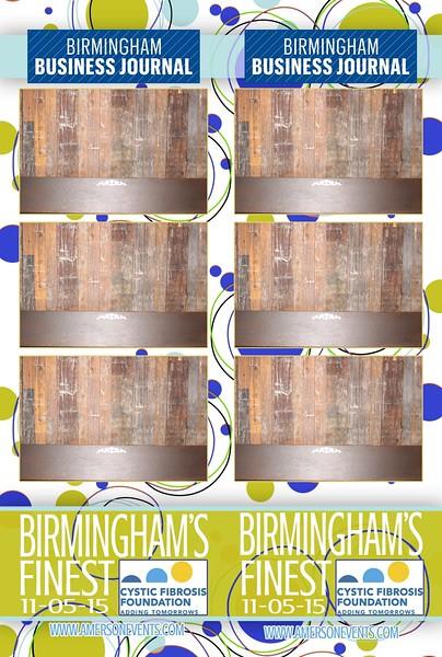 Birmingham's Finest - Cystic Fibrosis Foundation 2015