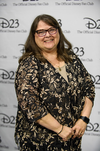 Walt Disney Archives director Becky Cline at D23's 10-Year FAN-<br /> niversary Celebration at the Walt Disney Studios, March 10, 2019.