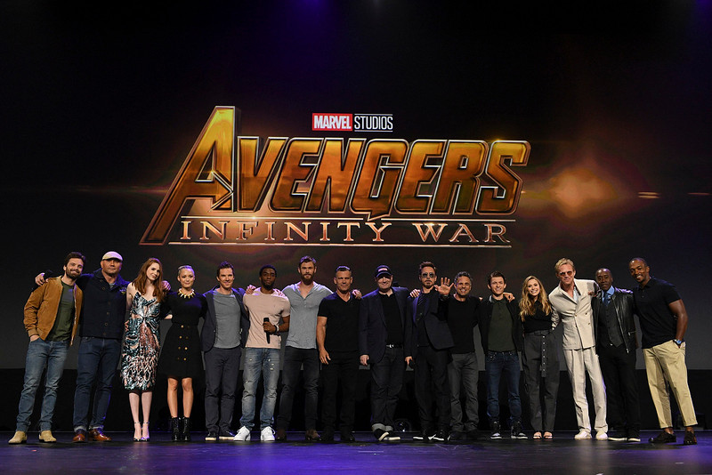 Marvel throws down the 'Infinity' gauntlet at #D23Expo