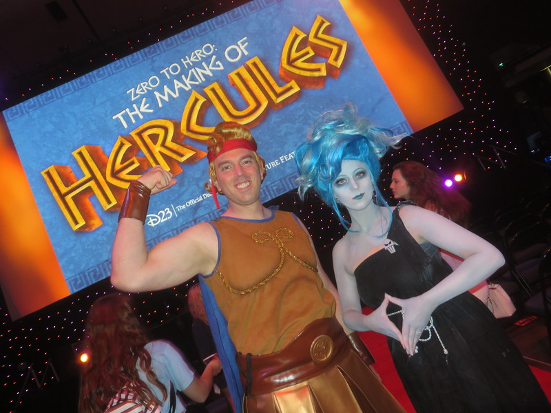 IN DEPTH: Zero to Hero: The Making of Hercules Panel at #D23Expo