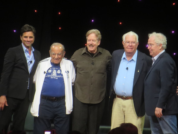 WATCH: John Stamos helms 'Legends of Walt Disney Imagineering' panel at #D23Expo with Tony Baxter, Marty Sklar