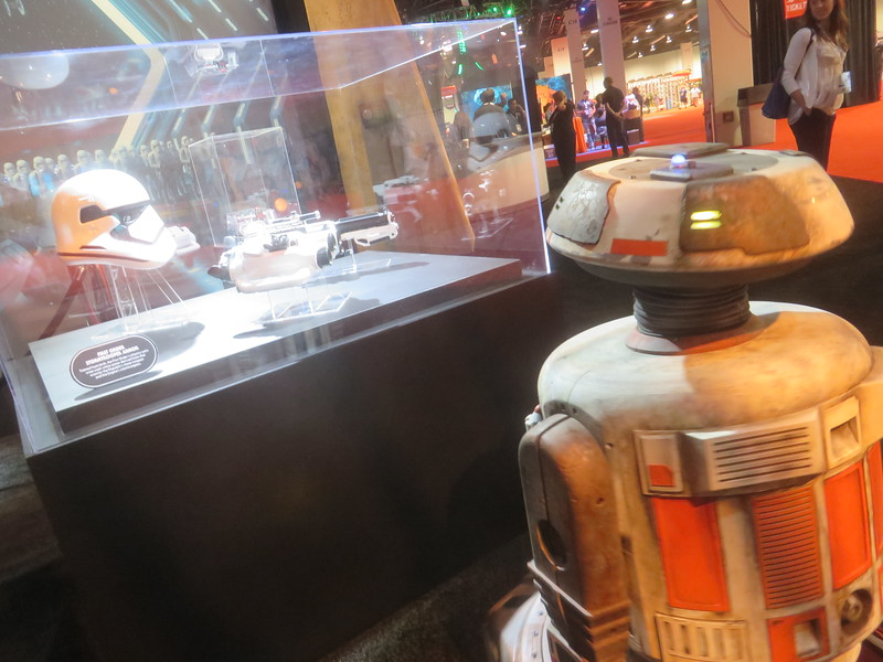 Meet Jake… from Galaxy's Edge; he was at the #D23Expo