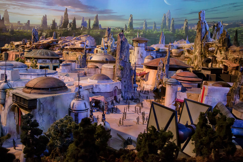 IN DEPTH: Star Wars themed land on full display for #D23Expo 2017