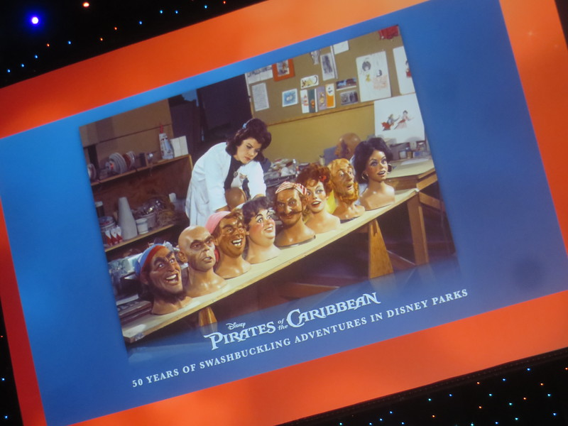 WATCH: #D23Expo celebrates 50 years of Pirates of the Caribbean with Imagineer panel