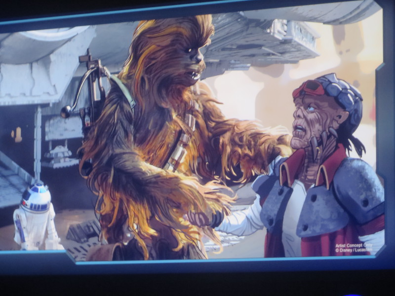 DETAILS: Everything we know about GALAXY'S EDGE Star Wars-themed land from the #D23Expo