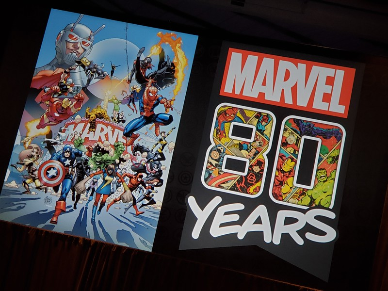 #D23Expo: Surprisingly awesome Marvel 80th Anniversary panel takes retrospective look at supers, announces new partnerships