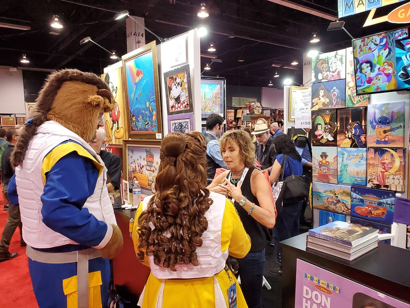 #D23Expo: COMPLETE LOOK: 2019 Show Floor brings Disney sights and sounds for one magical weekend