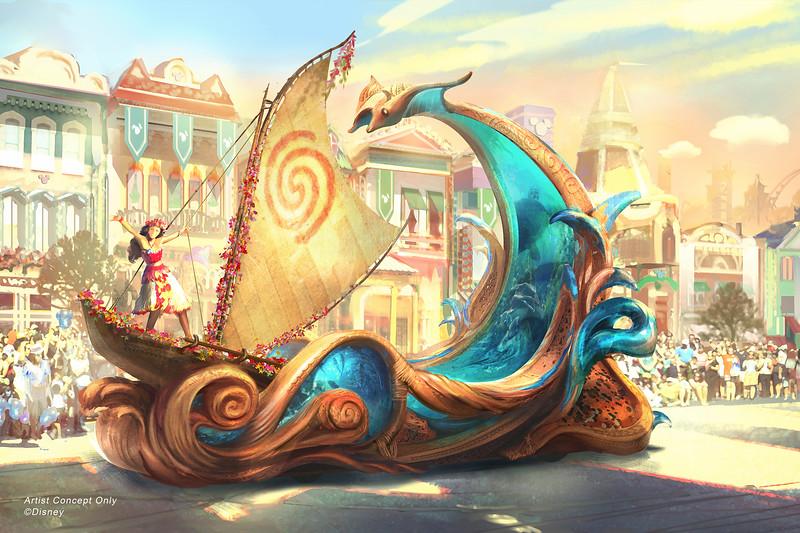 Magic Happens Parade at Disneyland