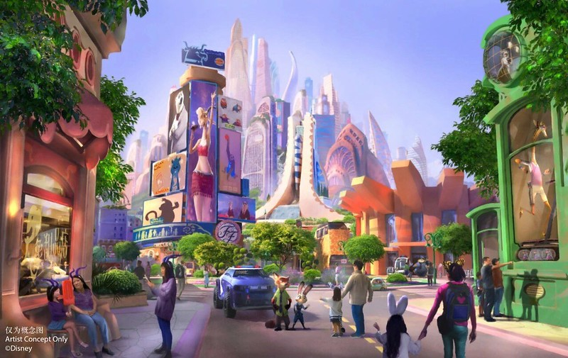 NEW: Zootopia themed-land coming to Shanghai Disneyland