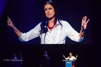 Julie Taymor-her body of work includes Lion King. Most articulate of them all.
