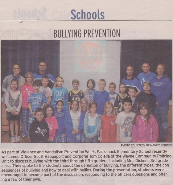 Bullying Program 2011